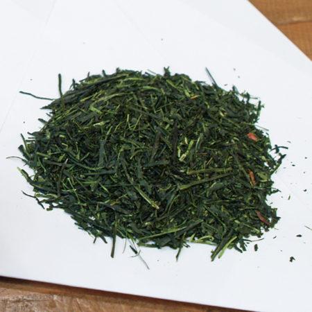 静岡茶 菊川 深蒸し茶の茶葉