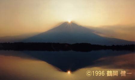 店長鶴岡の撮影したダイヤモンド富士
