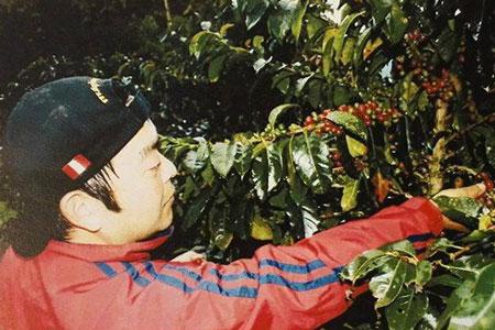 ペルー・カフェオルキデア 生産者代表 高橋克彦